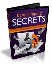 Blog Flipping Secrets Video with Master Resale Rights
