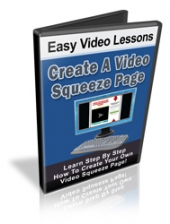 Create A Video Squeeze Page Video with Personal Use Rights