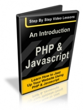 An Introduction To PHP & Javascript Video with private label rights