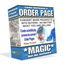 Order Page Magic Software with Master Resell Rights