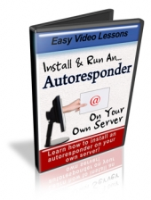 Install & Run An Autoresponder On Your Own Server Video with Personal Use Rights