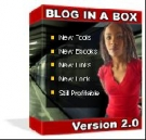 Blog In A Box Version 2.0 Software with Resell Rights