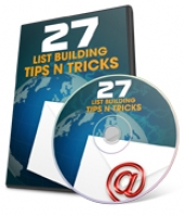 27 List Building Tips N Tricks Video with Private Label Rights