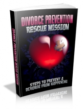 Divorce Prevention Rescue Mission eBook with private label rights