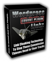 Wordpress Covert Plugin Linkz Software with Master Resale Rights