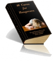 40 Cures For Hangovers eBook with private label rights