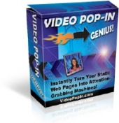 Video Pop-In Genius! Software with Private Label Rights