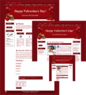 Hearts-N-Roses - WP Theme Template with Master Resale Rights