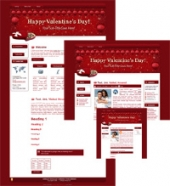 Hearts-N-Chocs - WP Theme Template with Master Resale Rights