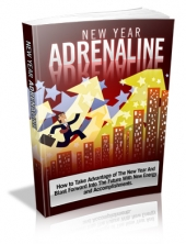 New Year Adrenaline eBook with private label rights