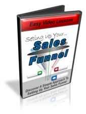 Seting Up Your Sales Funnel Video with Personal Use Rights