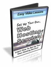 Set Up Your Own Web Hosting Service Video with private label rights