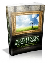 Authentic Acceptance eBook with Master Resale Rights