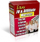 Easy JV & Affiliate Manager Software with Resell Rights
