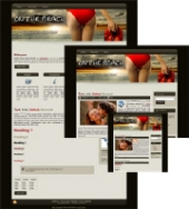 On the Beach 01 - WP Theme Template with Master Resale Rights