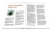 List Conversion Tactics Gold Article with Master Resale Rights