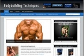 Body Building Blog Template with private label rights
