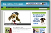 Dog Training Blog Template with Personal Use Rights