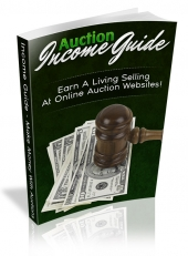 Auction Income Guide eBook with Resale Rights
