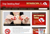 Stop Smoking Blog Template with Personal Use Rights