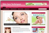 Skin Care Blog Template with Personal Use Rights