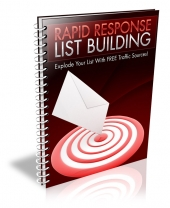 Rapid Response List Building eBook with Resale Rights
