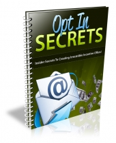 Opt In Secrets eBook with Resale Rights