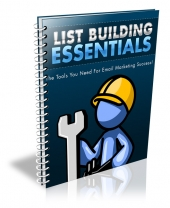 List Building Essentials eBook with Resale Rights