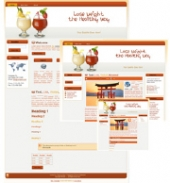 Weight Loss 02 Blog Template with Master Resale Rights