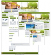 Weight Loss 03 Blog Template with Master Resale Rights