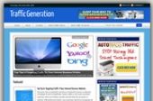 Traffic Generation Blog Template with Personal Use Rights