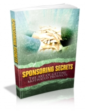 Sponsoring Secrets eBook with Master Resale Rights