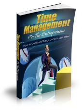 Time Management For The Entrepreneur eBook with Master Resale Rights
