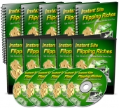 Instant Site Flipping Riches Video with Master Resale Rights