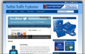 Twitter Blog Template with Personal Use Rights