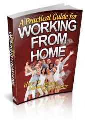 A Practical Guide For Working From Home eBook with Private Label Rights