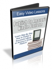 Publish On Amazon's Kindle Platform Video with Resale Rights