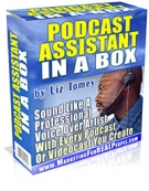 Podcast Assistant In A Box Software with Master Resell Rights