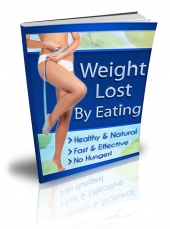 Weight Lost By Eating eBook with Private Label Rights