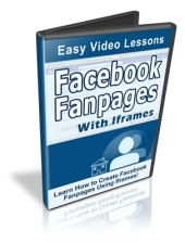 Facebook Fan Pages With Iframes Video with Resale Rights