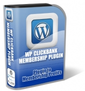 WP ClickBank Membership Plugin Software with Master Resale Rights