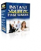 Instant Squeeze Page Maker Software with Master Resell Rights
