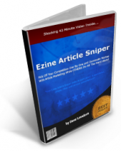 Ezine Article Sniper Video with private label rights