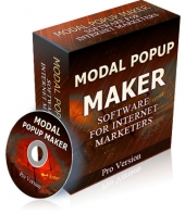 Modal Popup Maker Software with private label rights