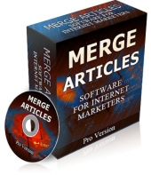 Merge Articles Software with Resale Rights