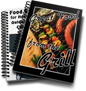 Great Food From The Grill eBook with Resale Rights