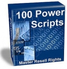 100 Power Scripts Software with Master Resell Rights
