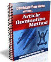 Article Domination Method eBook with Private Label Rights