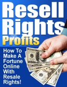 Resale Rights Profits Software with Master Resell Rights