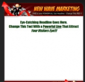 Big Launch Express - New Wave Marketing Template with Personal Use Rights